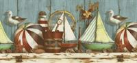 Beach Items - Wallpaper Border