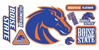 Boise State University Giant Peel & Stick Wall Decals