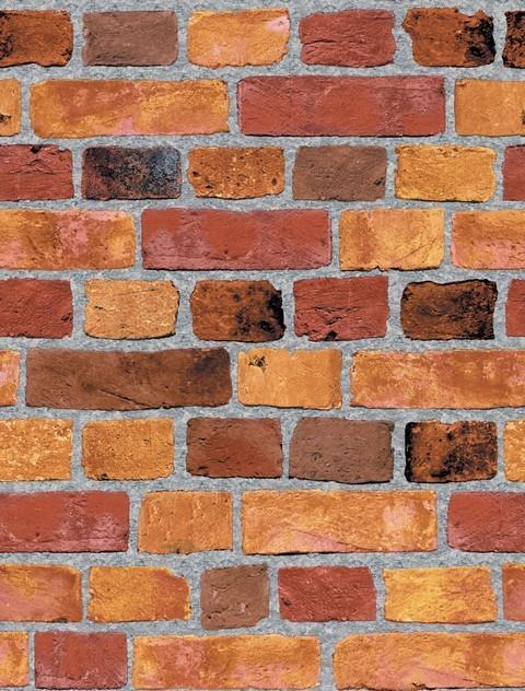 Brick Wall Background Design : Brick design wallpaper grasscloth