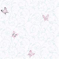 Butterflies Girls Scroll