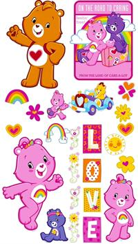 Care Bears Appliqués
