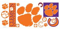 Clemson University Giant Peel & Stick Wall Decals