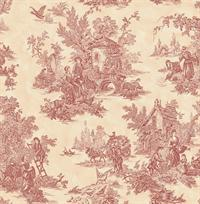 Country Squire Toile Wallpaper
