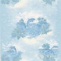 Dolphin Toile