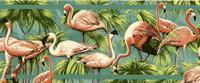 Flamingo - Wallpaper Border