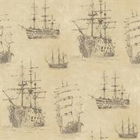Ghost Ships Wallpaper