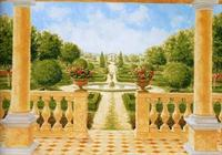Giardino All Italiana - Wall Mural