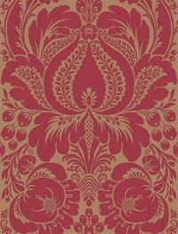 Large Jacobean Damask Wallpaper