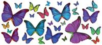 Multi-Colored Butterflies