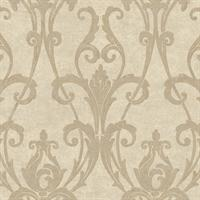 Classic Ogee Damask
