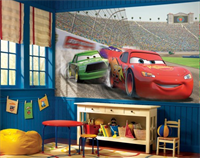 Piston Cup Racing Cars Mural