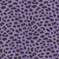 Purple Animal Print