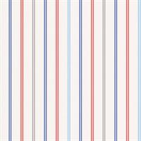 Red, Blue & Silver Stripe