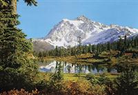 Rocky Mountains - Wall Mural