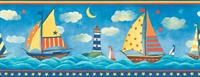 Sailboats Wallpaper Border