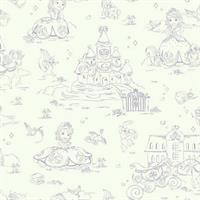 Sofia the First Toile