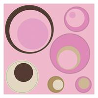 Spheres Stickers (Pink)