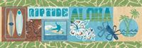 Surf Boards Wallpaper Border