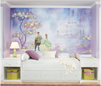 The Princess and the Frog Mural