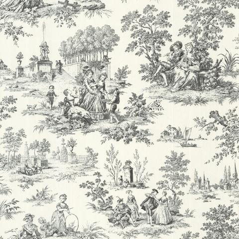 image gallery toile wallpaper