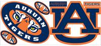 University of Auburn Giant Peel & Stick Wall Decals