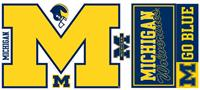 University of Michigan Giant Peel & Stick Wall Decals