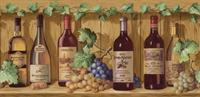 Wine Bottles Wallpaper Border