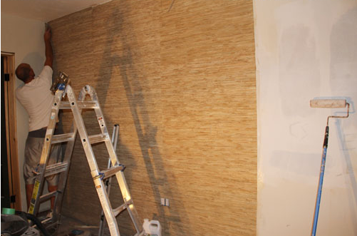 How To Successfully Hang Grasscloth Totalwallcovering