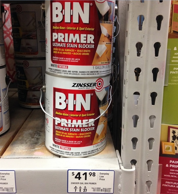 BIN Shellac Primer at Lowes Home Improvement Store