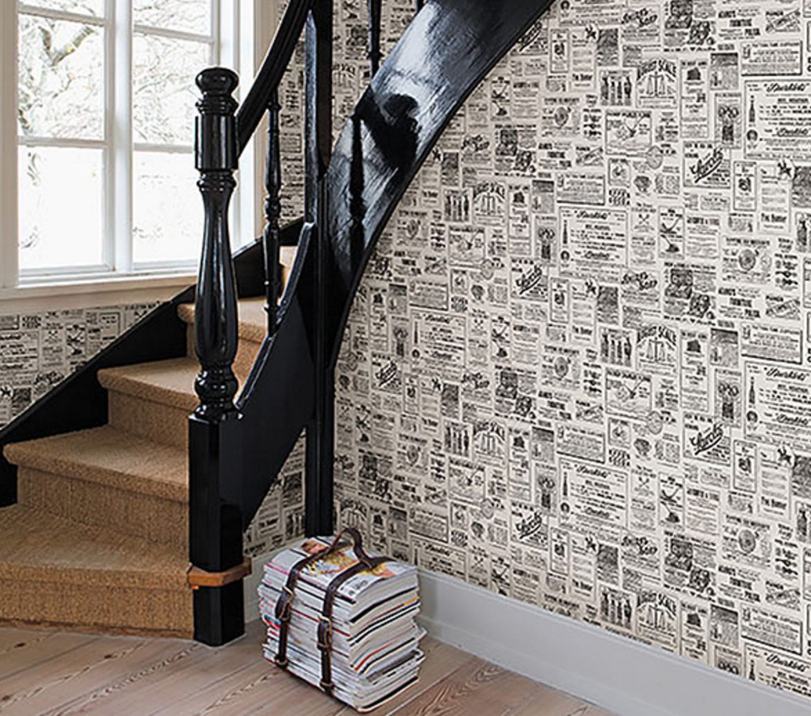 Sought-after Style With Vintage Wallpaper