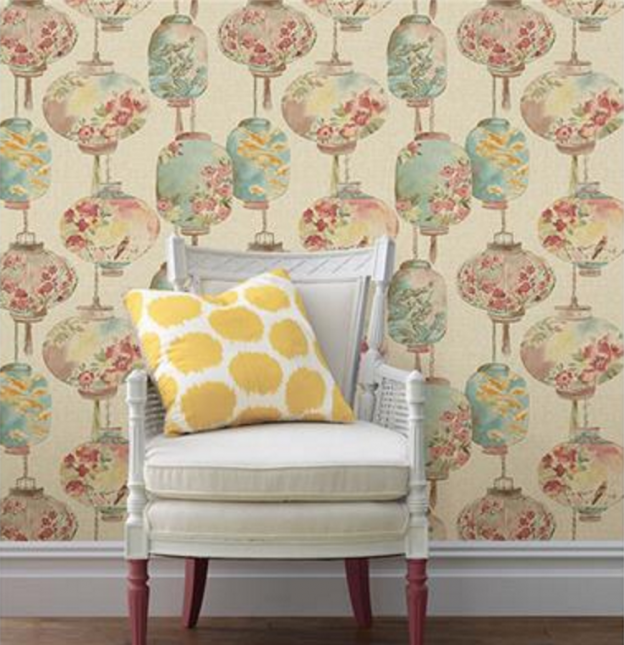 Wallpaper Inspired By Chinese Art Chinoiserie