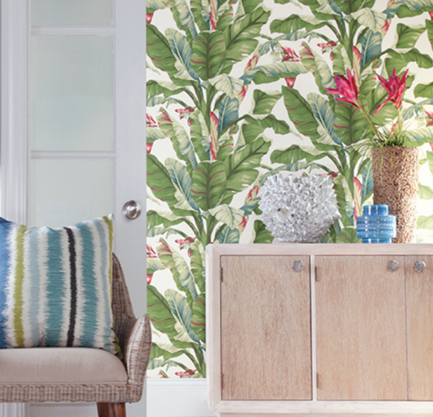 Tropical Wallpaper York Wallcovering Ashford Tropics