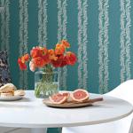 double striped wallpaper