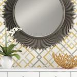 geometric wallpaper stunning accent walls