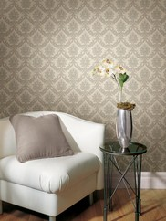 2446-83535 Linen Texture Damask Wallpaper