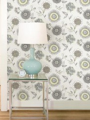 2535-20682 Maisie Floral Burst Wallpaper