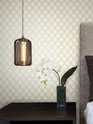 2603-20916 Jasper Fretwork Trellis Wallpaper