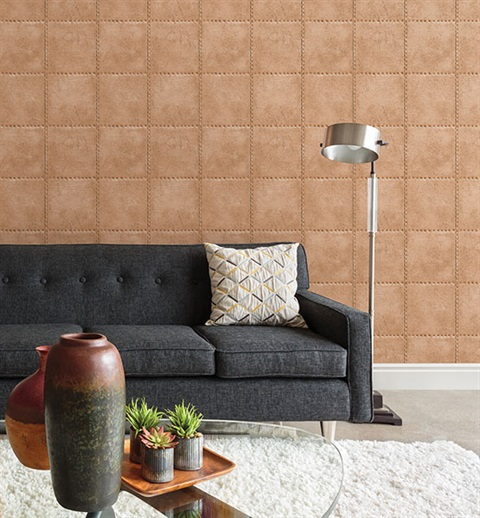 Faux Riveted Industrial Tile