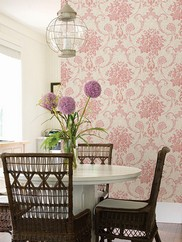 2614-21027 Marais Ikat Damask Wallpaper