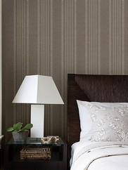 2614-21045 Adria Jacquard Stripe Wallpaper