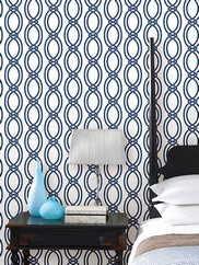 2625-21835 Infinity Geometric Stripe Wallpaper