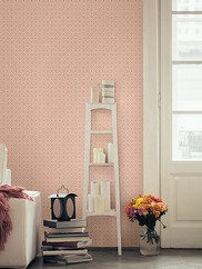 2625-21840 Kinetic Geometric Floral Wallpaper