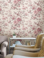 2668-21531 Elizabeth Wildflower Trail Wallpaper