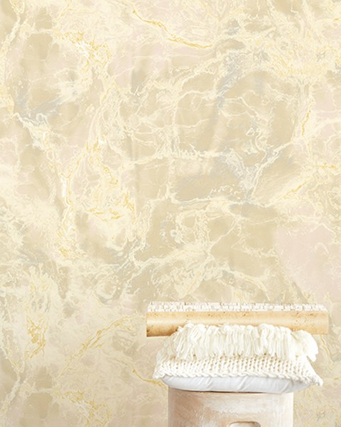 Marble Stone Off-White Wall Mural;