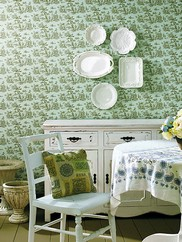 403-49256 Country Toile Sidewall