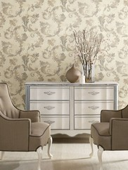 484-68096 Lana Grey Scroll Traditional
