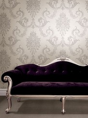495-69002 Chambers Floral Damask Wallpaper