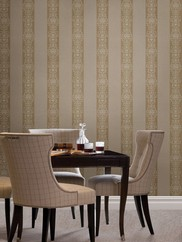 495-69004 Nash Stripe Embellished Stripe Wallpaper