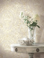 521-71908 Cameo Floral Wallpaper