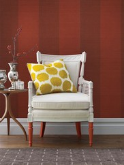 63-54734 Two Toned Grasscloth Wallpaper